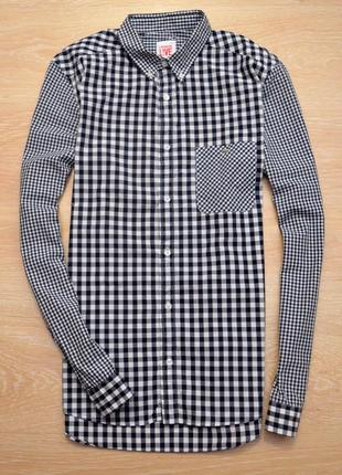 Красивая рубашка в клетку lacoste