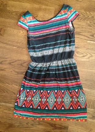c48f71cb262 Платье с этническими узорами