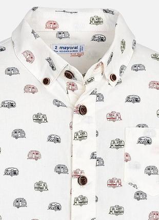 Mayoral рубашка. рост 134-140