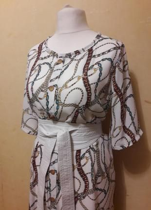 Трендовое платье рубашка4 фото
