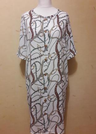 Трендовое платье рубашка6 фото