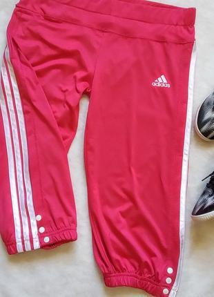 Спортивные капри adidas бриджи леггинсы брюки штаны