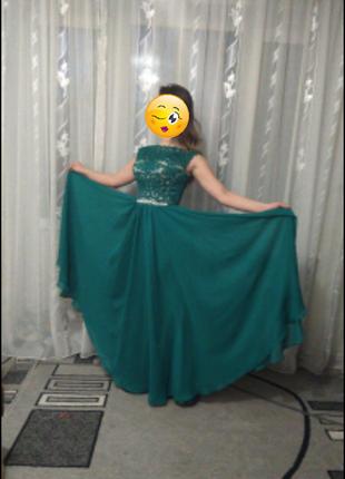 Красивое выпускное платье2 фото