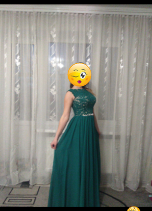 Красивое выпускное платье3 фото