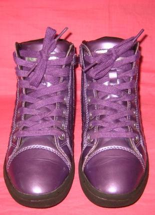 Фирменные демисезонные ботинки geox (оригинал) - 35 размер
