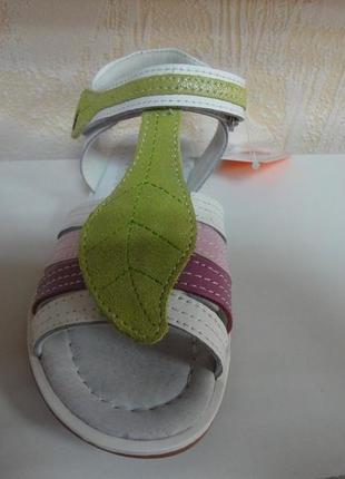 Кожаные босоножки 33 р. 22 см b&g на девочку, сандалии, дівчинку, босоніжки, сандалі