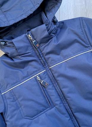 Демисезонная куртка на мальчика outventure.6 фото