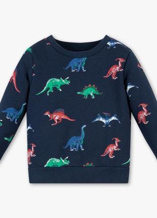 """Новый свитшот """"динозавры"""" для мальчика, c&a, 2032716"""