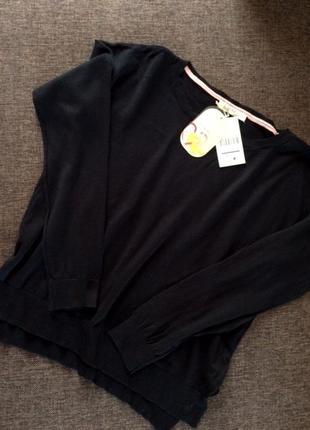 Шок-цена! сладкие скидки к пасхе! базовый пуловер bershka оверсайз из натуральной ткани