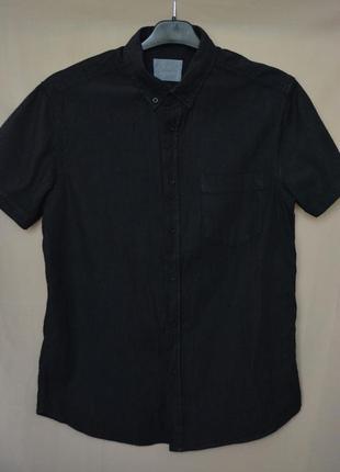 Рубашка котоновая мужская primark англия размер m