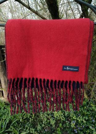 🌀отличный шарф polo by ralph lauren 🌀