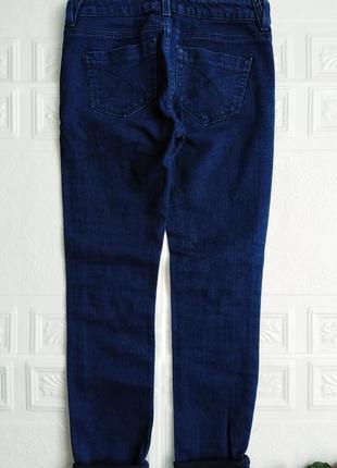Рваные джинсы topshop, с подворотами5 фото