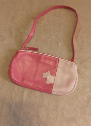 Кожаная,маленькая сумочка для маленькой леди radley
