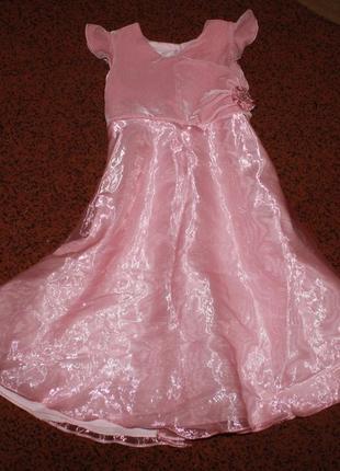 Платье  mothercare на 6-7 лет рост 122 на выпускной