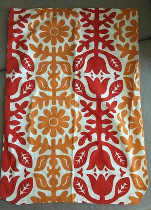 Наволочка на большую подушку из ткани ikea 60*88 см