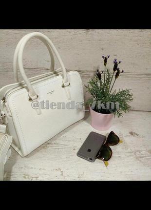 Женская сумка от david jones cm4013t white