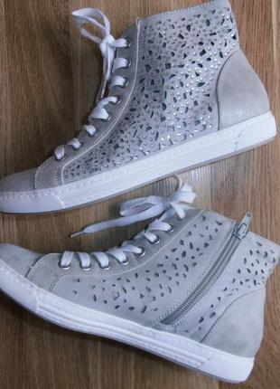 Симпатичные ботинки кеды со стразиками, graceland