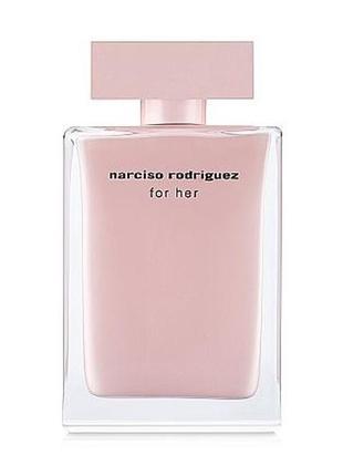 Narciso rodriguez for her парфюмированная вода -оригинал! 30 ml