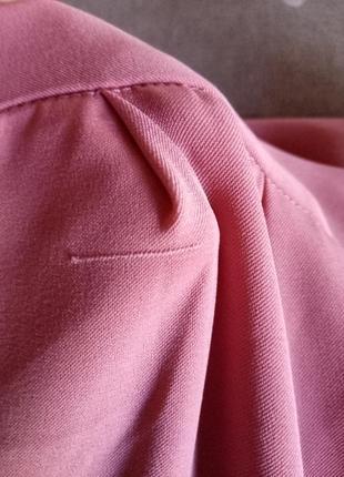 Юбка-брюки,кюлоты большого размера,цвет《пыльная роза》5 фото