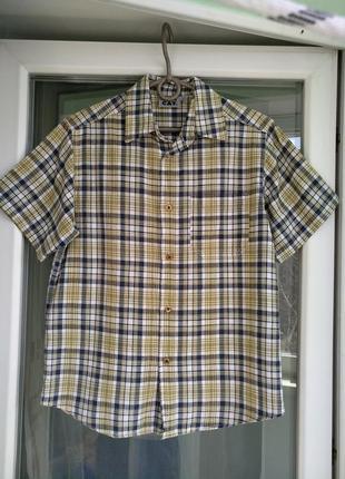 Шведка uni cat р.146-152 мальчику 10-12л, летняя рубашка х/б
