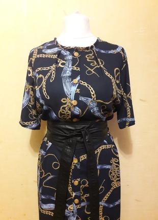 Трендовое платье рубашка2 фото