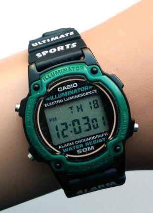 Casio винтажные lw-21 оригинал секундомер подсветка будильник wr