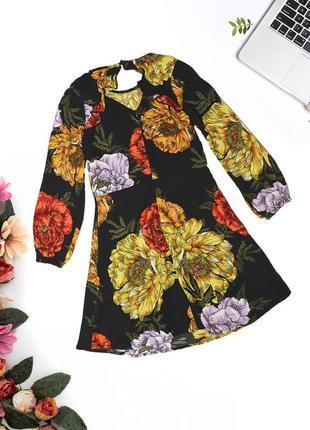 Платье в цветочных узор river island3 фото