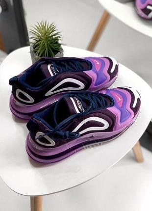 Стильные кроссовочки nike в фиолетовом цвете (весна-лето-осень)😍