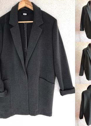 Блейзер/пальто кокон в идеале м или оверсайз