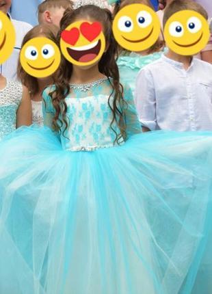 Платье для принцессы на выпускной начальной школы