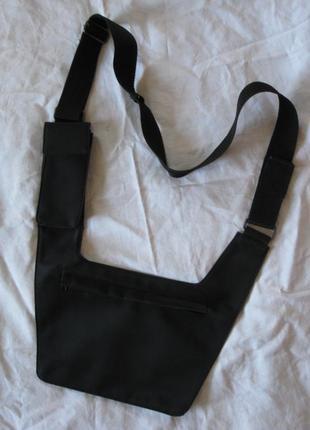 Бананка сумка мужская через плечо