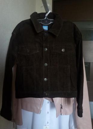Куртка  вельветовая 122-128 см
