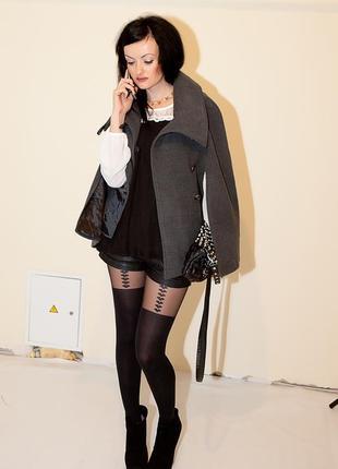 Супер-трендовое пальто кейп, размер xs-m, англия