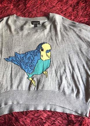 Укороченный свитер topshop2 фото