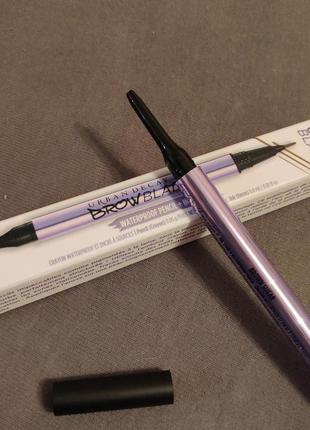 Двусторонний карандаш для бровей urban decay brow blade - brown sugar