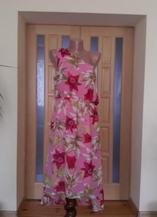 Изумительное платье на одно плечо miss selfridge
