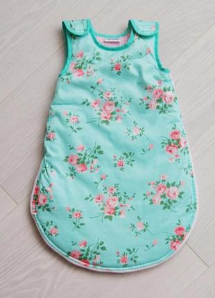 Спальный мешочек для малыша shabby chic
