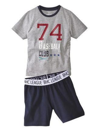 Пижама, для мальчика, летняя, хлопковая, 8,12