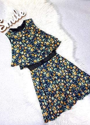 Оригинальное летнее платье от zara