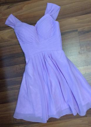 Шикарное платье  на выпускной р. m