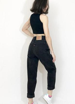 Брендовые джинсы мом