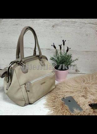 Женская сумка от david jones 5729-1 grey