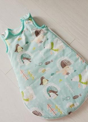 Спальный мешочек для малыша penguins