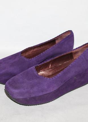 Дизайнерские туфли на платформе от stephane kelian 38,5 размер