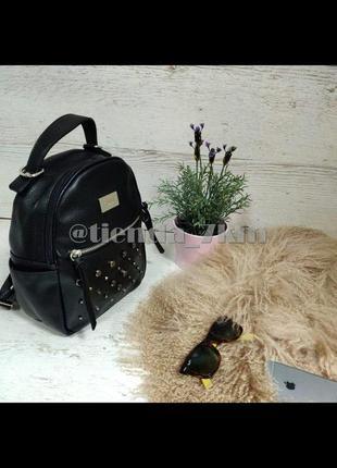 Городской рюкзак от david jones с заклепками cm3782 black