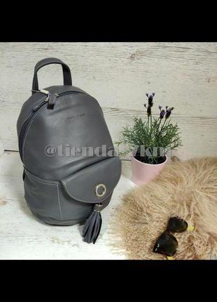 Городской рюкзак от david jones 5637-4 d.grey