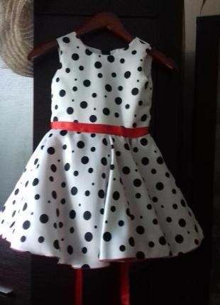 Платье для девочки 4-6л