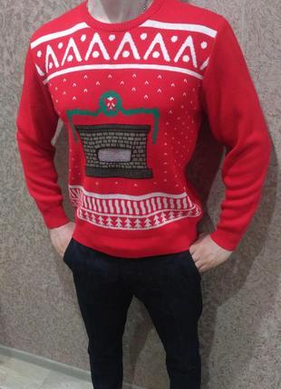 Праздничный, новогодний свитер