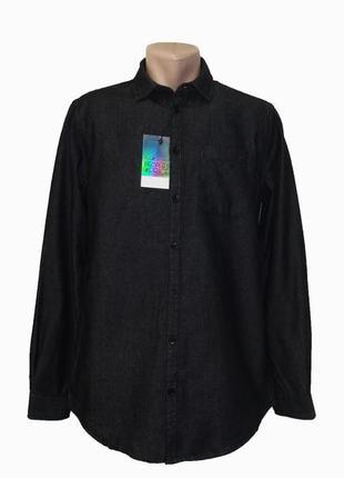 Мужская рубашка c длинным рукавом piazza italia. разные цвета.
