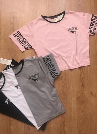Футболка pink